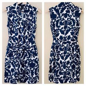 5/$25 // Black & White Stretch Cotton Dress